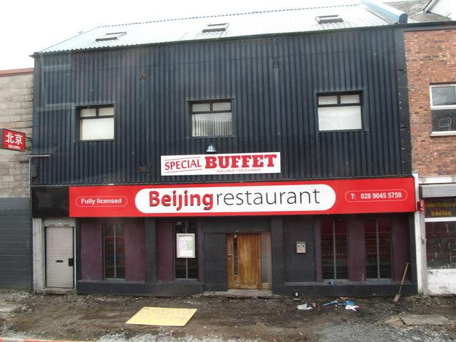 Beijing Restaurant in Albert Bridge Road, East Belfast
