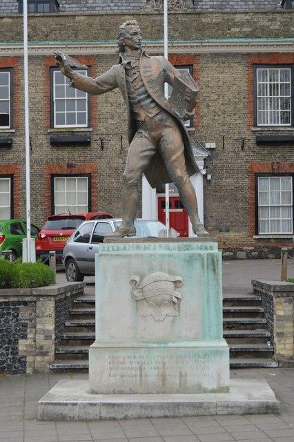 Statue of Thomas Paine