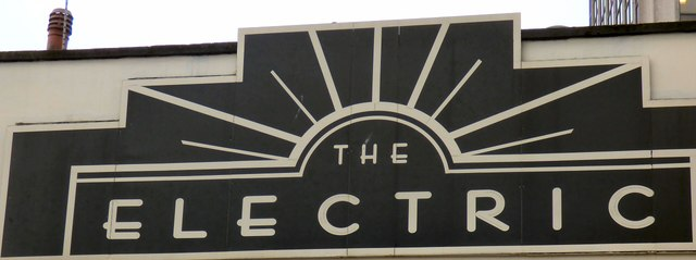 The Electric (nameboard)