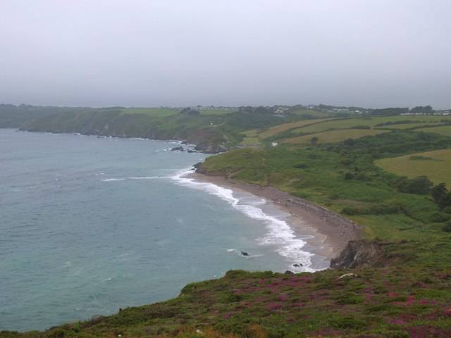 Kennack Sands from Eastern Cliff
