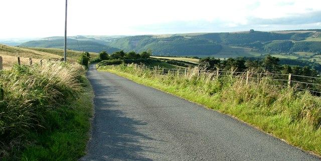 Llanshay Lane, Knighton, Powys