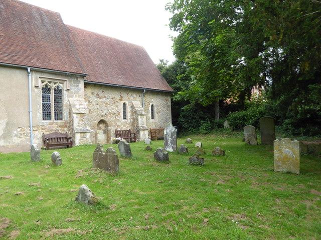 St. Mary, Ninfield: churchyard (e)