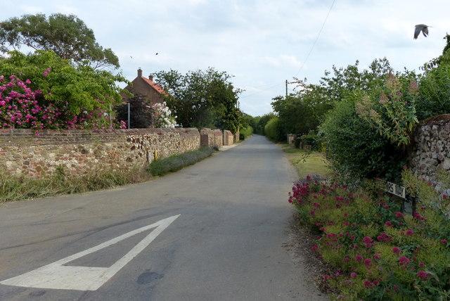 Peddars Way at Holme next the Sea