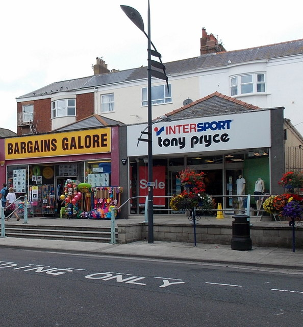 Intersport Tony Pryce and Bargains Galore, Exmouth