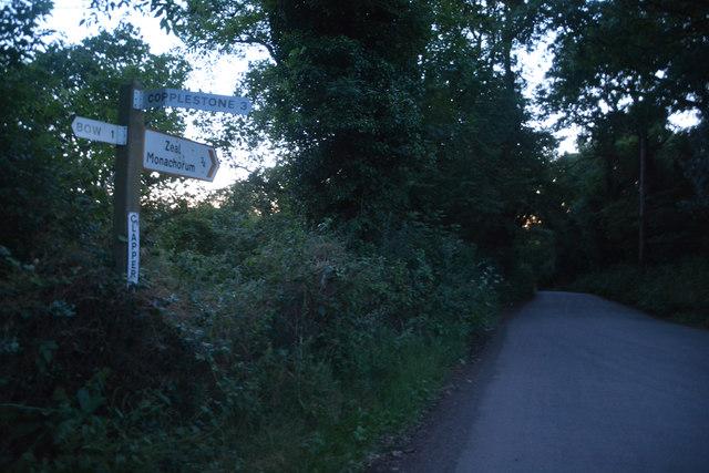 Mid Devon : Clapper Cross