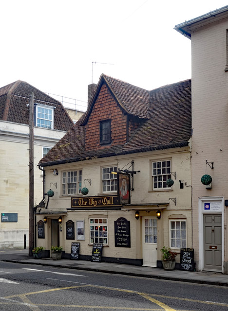"""""""The Wig and Quill"""" public house, Salisbury"""