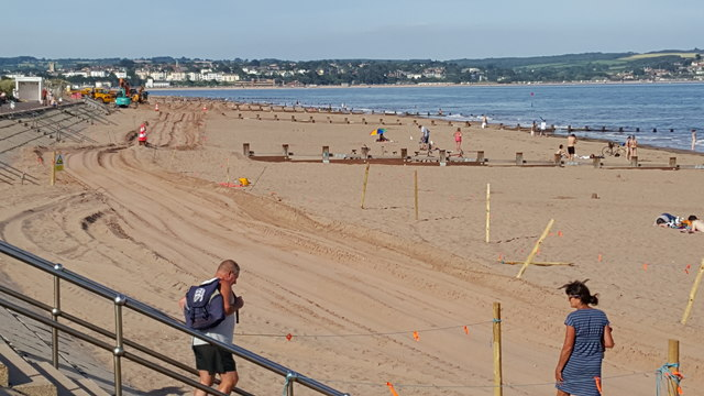 Dawlish Warren : Sandy Beach
