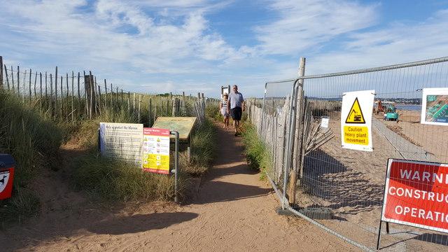 Dawlish Warren : Sandy Path