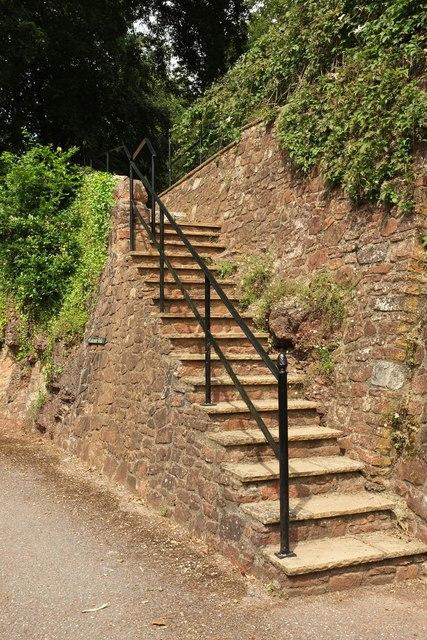 Steps, Ugbrooke House