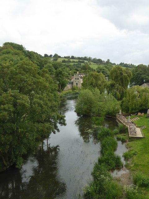 River Avon at Avoncliff