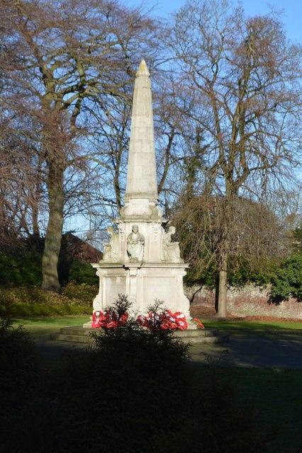 War Memorial, Memorial Gardens