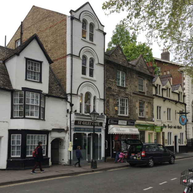 Four-storey building, St Giles', Oxford