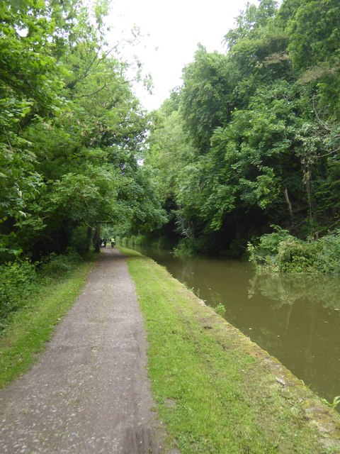 Canal towpath by Murhill