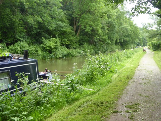 Mowing the long grass, Kennet and Avon Canal