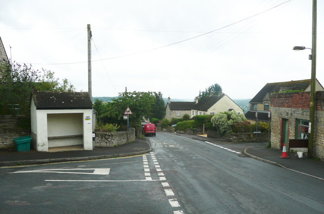 Bus shelter on Main Road, Whiteshill