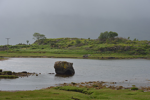 A wet day at the head of Loch Torridon