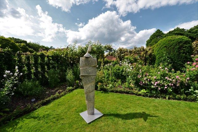 Chenies Manor House: Garden sculpture 2