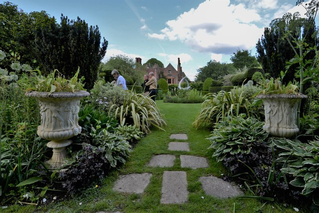 Chenies Manor House and garden