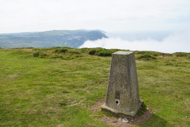 Trig point on Butter Hill