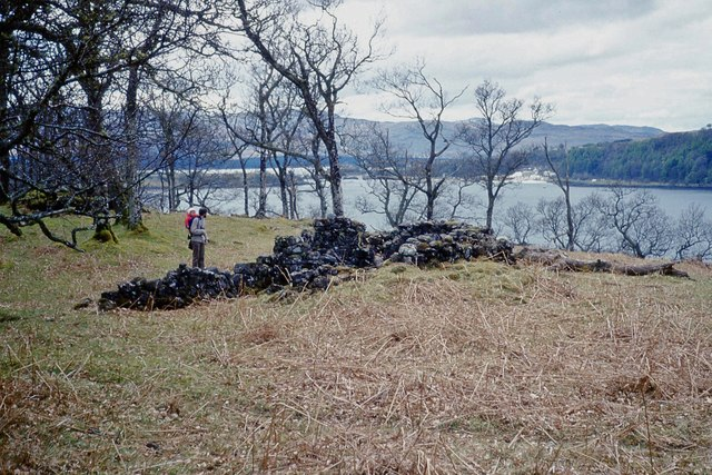 Ruins by Loch Aline