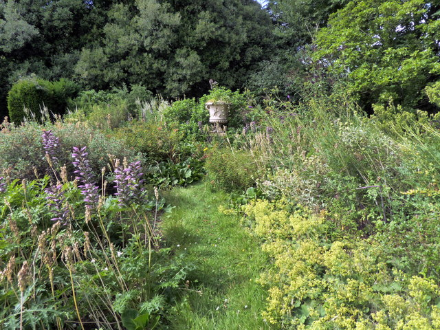 Garden at Bentley Wildfowl and Motor Museum