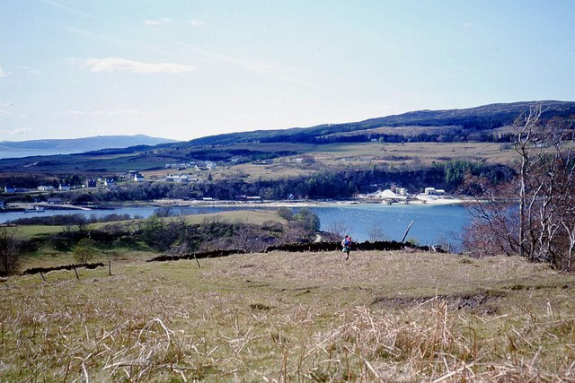 Cnap a' Chaolais, a top overlooking the narrows