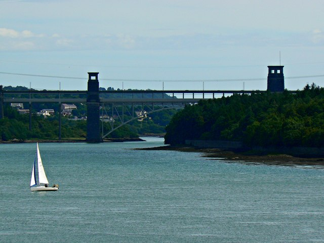 Britannia Bridge, Anglesey