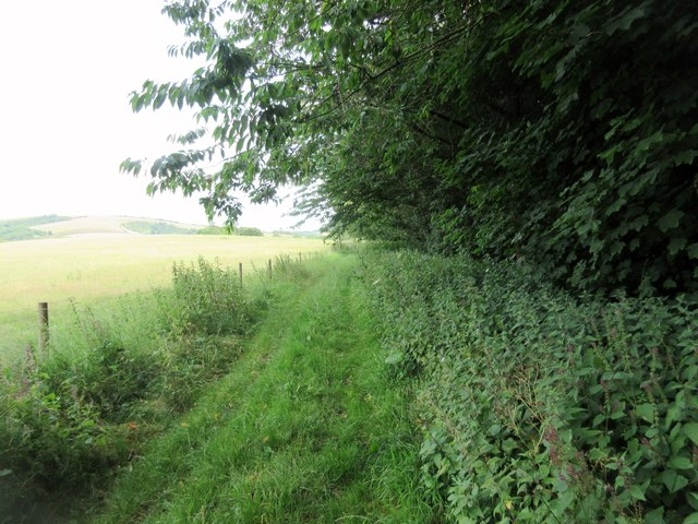 Bridleway to Highden Barn and North Farm
