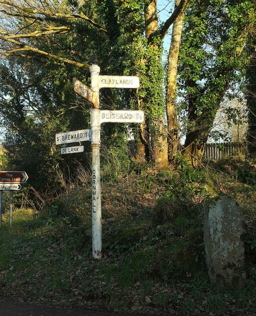 Signposts old and very old, Wenfordbridge