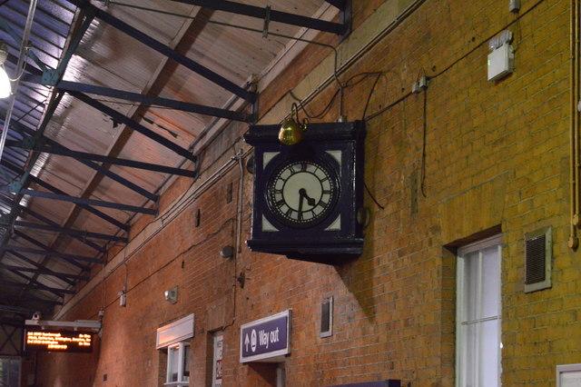 Clock, Beverley Station