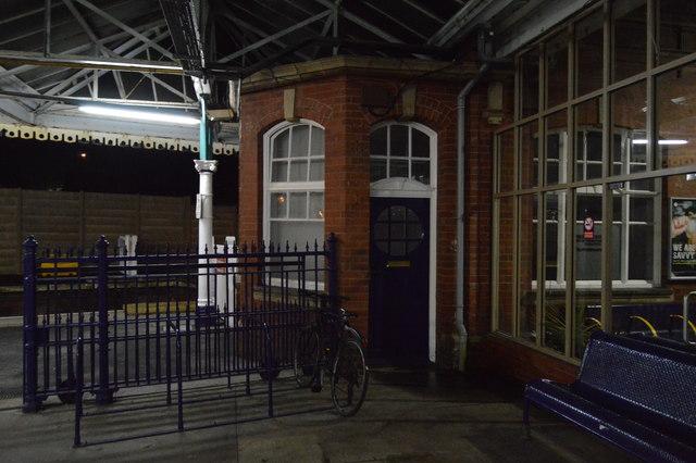 Inside Bridlington Station
