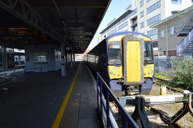 Platform 1, Hastings Station
