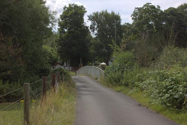 Bridge over the River Mole near the A24 at Mickleham