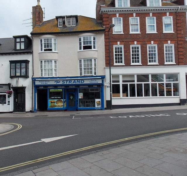 The Strand Kebab House and Fish Bar, Exmouth
