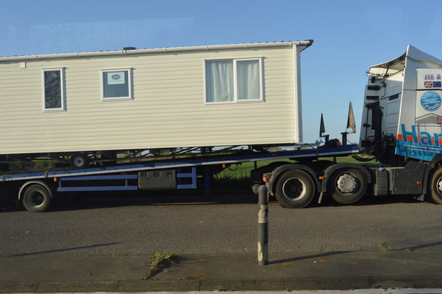 Static home parked up