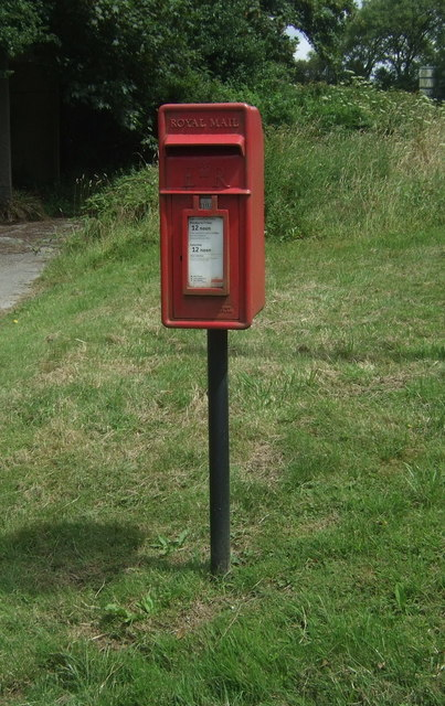 Elizabeth II postbox on the A30, Catchall