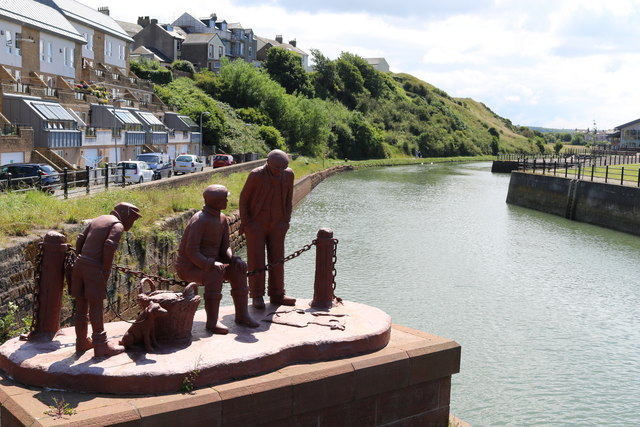 A tribute to the fishers of Maryport