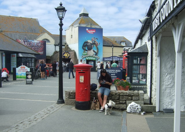 George VI postbox, Land's End Visitor Centre