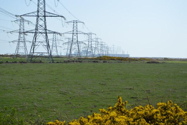 Many pylons