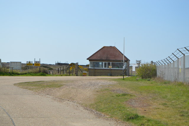 An entrance to Lydd Ranges