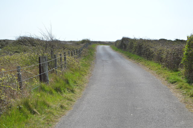 Restricted bridleway, southbound
