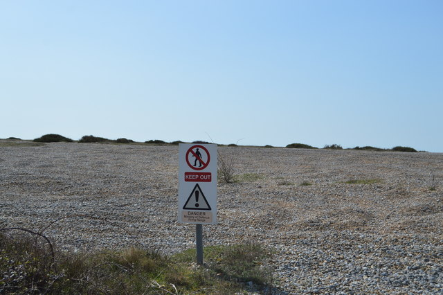 Keep out, Lydd Ranges