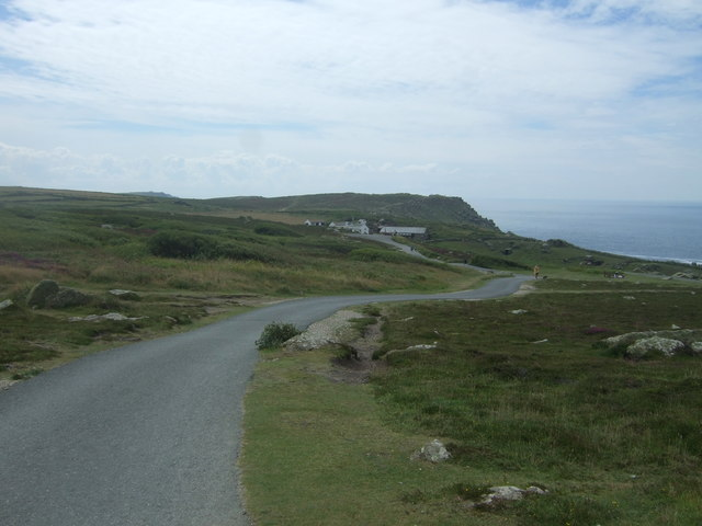 Track to Greeb Craft Centre, Land's End