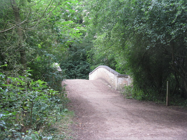 Bridge over Alconbury Brook