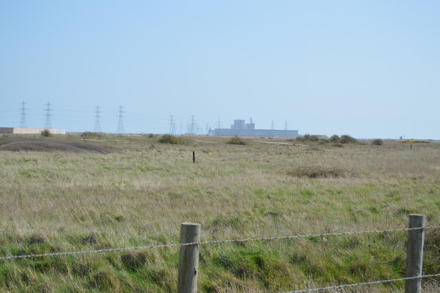 Power Station in the distance
