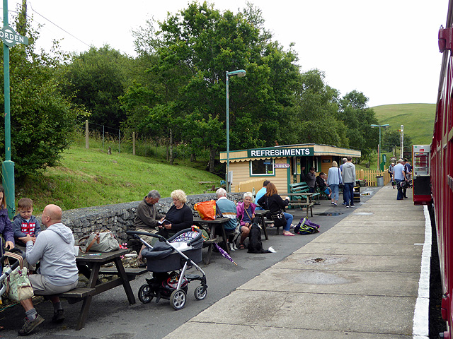 Waiting for the train at Norden