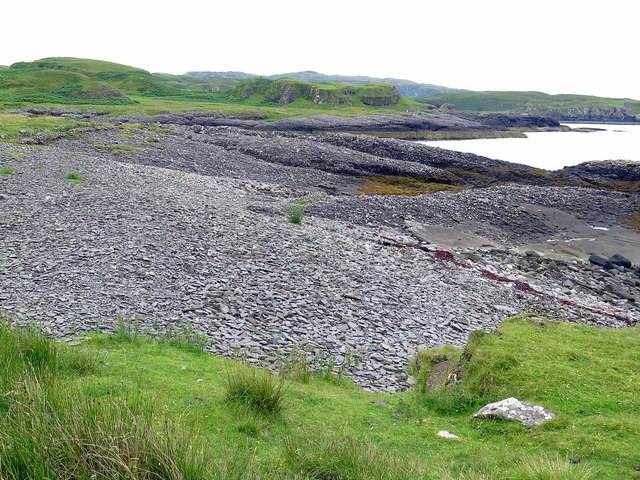Rocky bay south of Ardmore