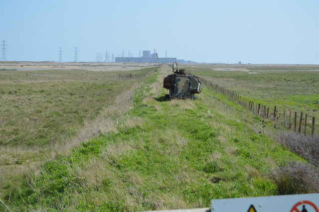 An old railway line, Dungeness