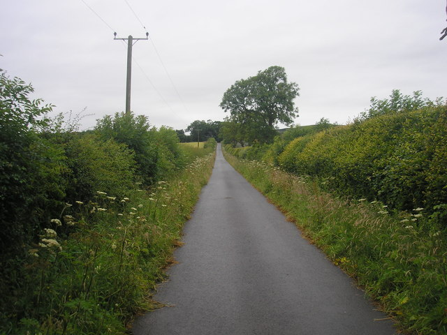Driveway from Balcaskie to the main road