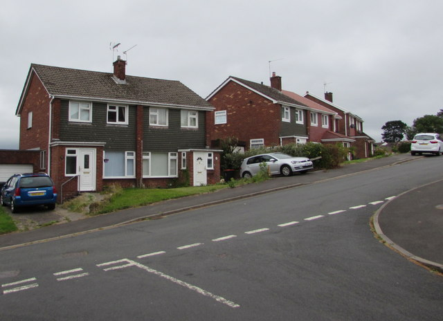 Laurel Crescent houses, Malpas, Newport